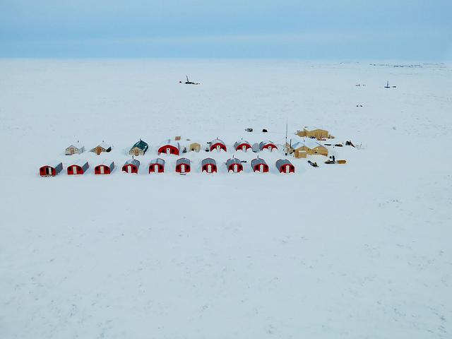New Kelvin K2 Camp completed early 2015 near Kelvin kimberlite deposit, Kennady North Project, Kennady Diamonds Inc.