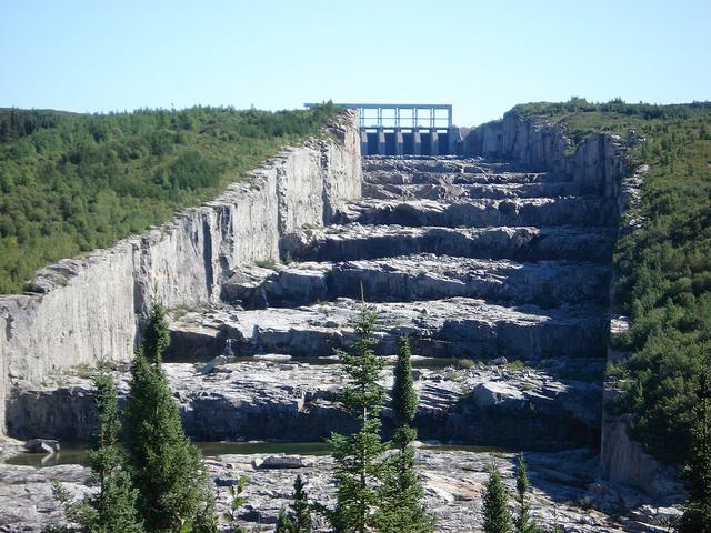 Spillway of the Robert-Bourassa generating station