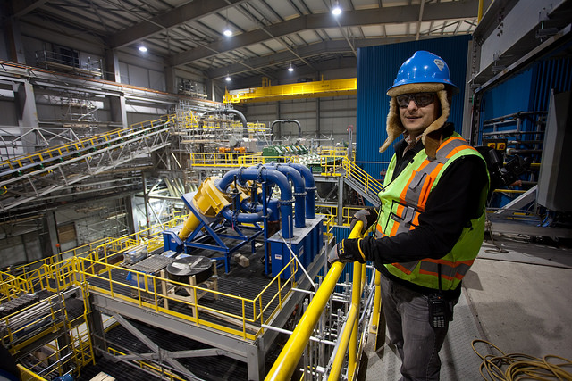 Rob Coolen is the site manager in the Gahcho Kué diamond plant.