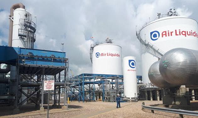 Air Liquide Scotford facility, near Fort Saskatchewan, Alberta, Canada.