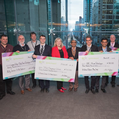 $990,000 was awarded to four BC research projects at the recent BCIC Ignite Awards.