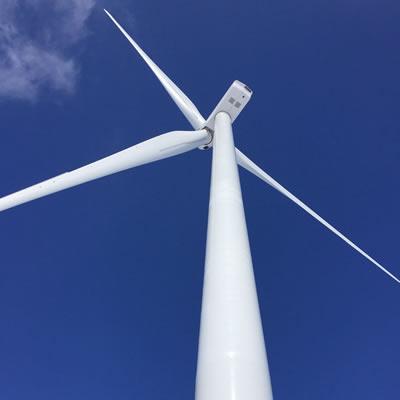 Picture of wind turbine.