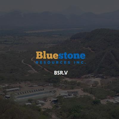 Graphic of Bluestone Resources Inc.