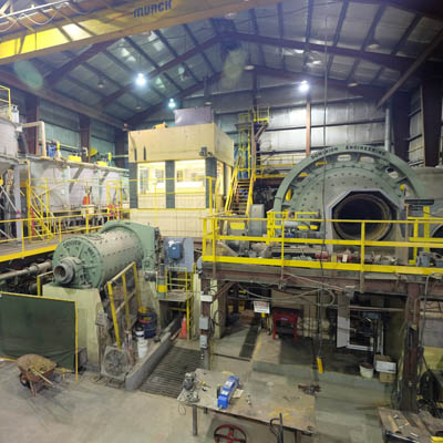 Braveheart Resources' mill at the Bull River Mine is near Cranbrook, B.C.