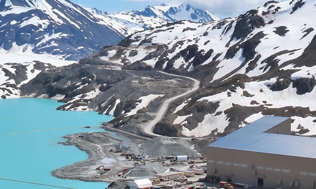 The Brucejack Mine in northern B.C.