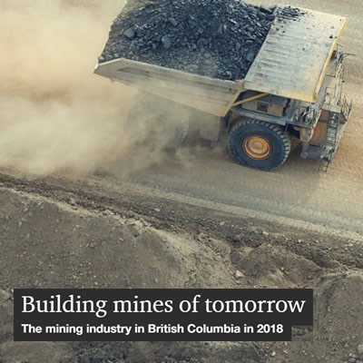 Cover of the 51st annual BC Mining report, released by PwC Canada.
