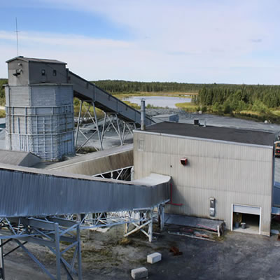 Monarques' Camflo Mill in Quebec.