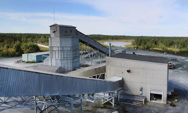 Monarques' Camflo Mill in Quebec.