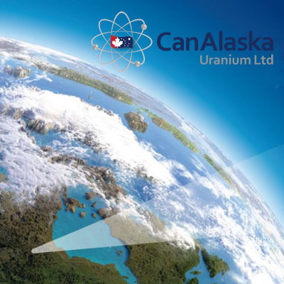 CanAlaska logo with picture of earth from space.