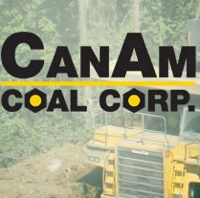 Logo for CanAm Coal Corp.