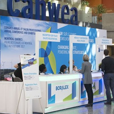 The CanWEA 2017 Conference and Exhibition was held from October 3-5 in Montreal, Quebec.