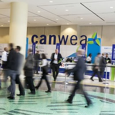 Picture of attendees at the CanWea Conference.