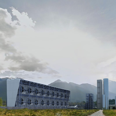 Carbon Engineering plant.