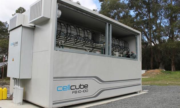 CellCube Vanadium Redox Flow Battery delivered | Mining & Energy