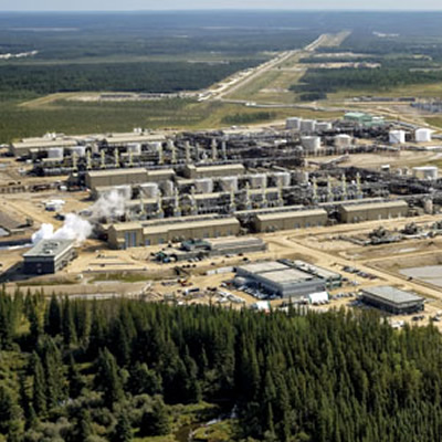 The Christina Lake oil sands operations.