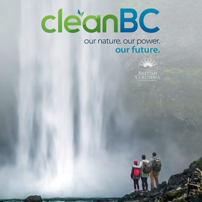 The cover of the Clean BC Building report.