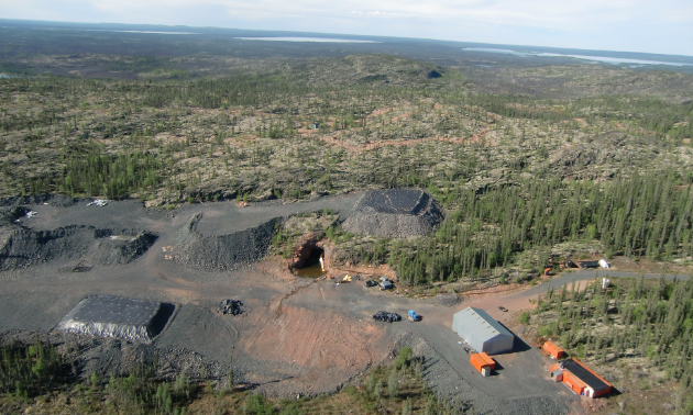 Fortune Minerals' NICO project is located in the Northwest Territories.