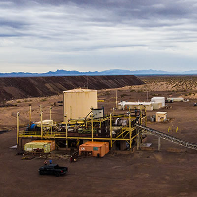 The high-grade Copperstone Gold Mine is located in western Arizona, in the United States.