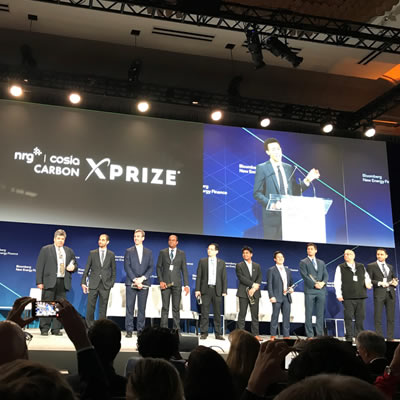 XPRIZE Bloomberg press conference earlier this year.