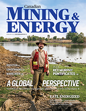 Canadian Mining & Energy Spring 2016 cover