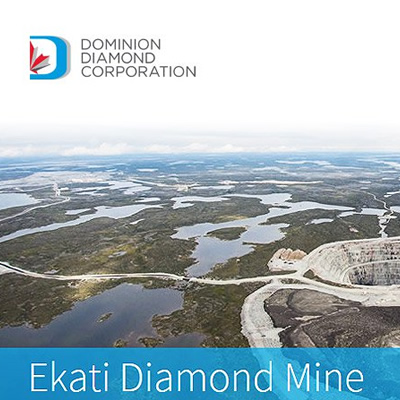 Picture of Ekati Diamond Mine.