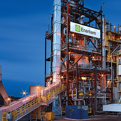 Enerkem Inc. biofuel facility.
