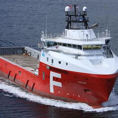 Farstad Shipping's Platform Supply Vessel (PSV) Far Sun.