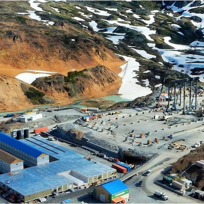 FilterBoxx's wastewater treatment plants use membrane bioreactor technology to meet environmental standards of water discharge at the mine site.