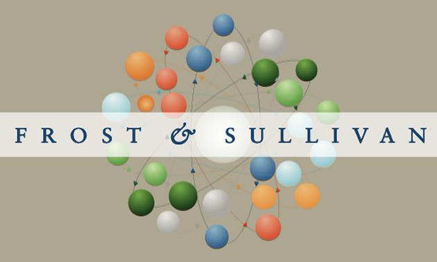 Logo for Frost & Sullivan