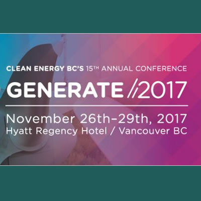 Graphic of Generate 2017 conference.