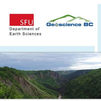 Cover of Geoscience BC's Peace Project report.