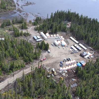 Aerial view of Bonterra Resources' Gladiator Project.