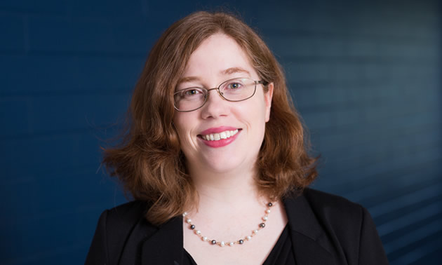 Shown here is a headshot of Heather Kaminsky, lead researcher at the Centre for Oil Sands Sustainability.