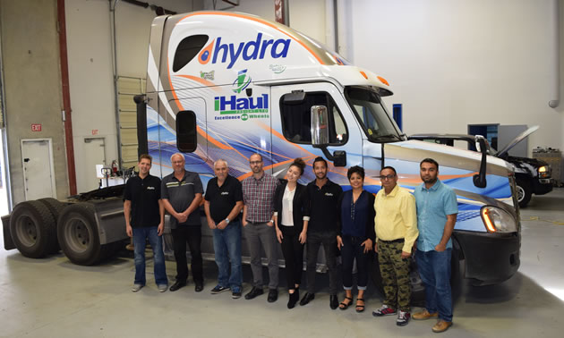 Foresight-mentored company Hydra Energy is capturing waste hydrogen for use as a fuel to displace up to 30 per cent of the diesel used in Class 8 trucks.