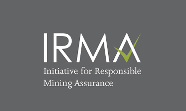 The Standard for Responsible Mining logo.