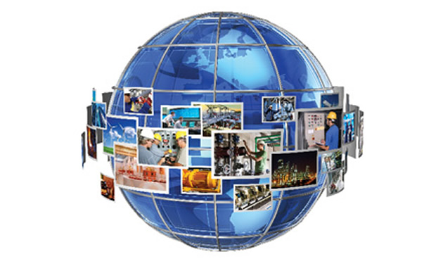 Picture of globe.