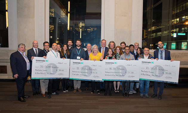 $944,600 awarded to four BC-based research projects at last night's Innovate BC Ignite Awards.