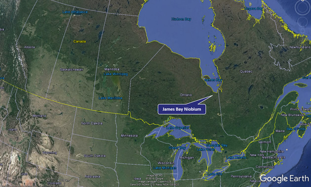 James Bay Canada Map NioBay Metals announces exploration permit | Mining & Energy