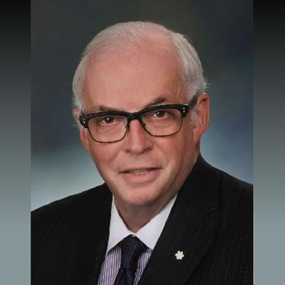 2017 Canadian Mining Hall of Fame inductee, James 'Jim' Carter.