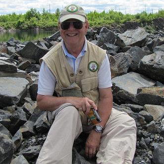 Jim Bamburak in the field.