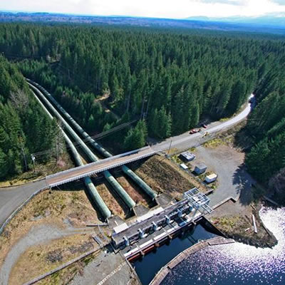 Aecon Group is currently working on the John Hart Power Generation Expansion Project on Vancouver Island.