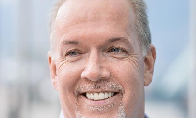 BC Premier John Horgan.