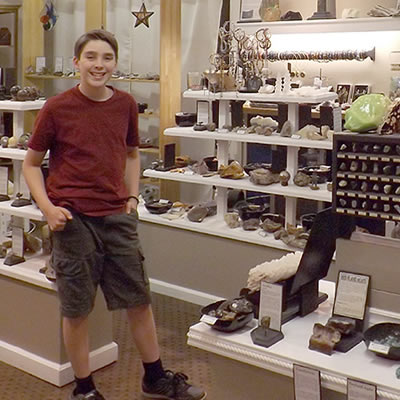 Judah Tyreman is the curator at the Sesula Mineral and Gem Museum in Radisson, Saskatchewan.