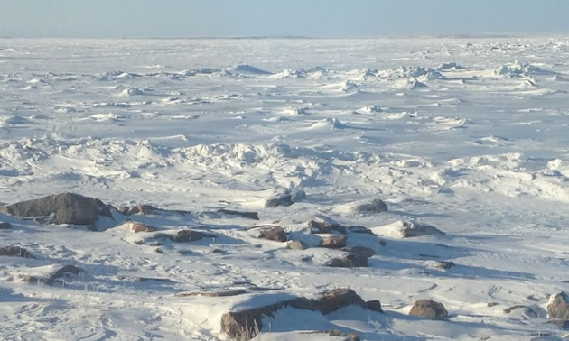 The Kahuna Project, located in Nunavut, Canada.