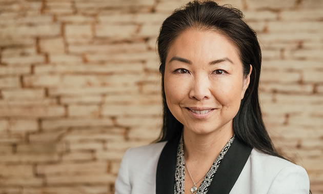 Kathryn Hayashi, CEO of TRIUMF Innovations Inc.