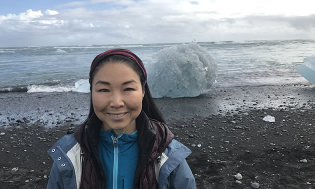 When Kathryn isn't busy running TRIUMF Innovations she is exploring the world. This is from her recent trip to Iceland.