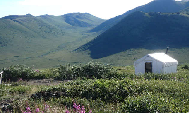 The Klaza Project, located in the southern Yukon.
