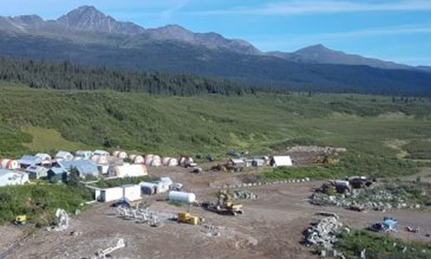 The Kutcho high grade copper-zinc project is located in northern British Columbia.