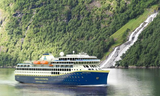 Havila Kystruten's coastal vessels.