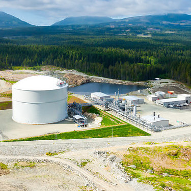 Between the Tilbury plant in Delta and Mt. Hayes on Vancouver Island, FortisBC stores 2.2 billion cubic feet of natural gas in case service is interrupted by weather.